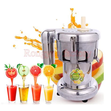 juicer apple machine extractor stainless steel vegetable wheatgrass pear extracting fruit