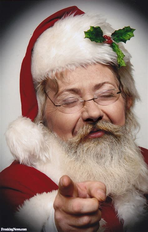 Of Santa by Clinton Santa Pictures Freaking News