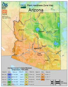 Arizona Time Zone Map