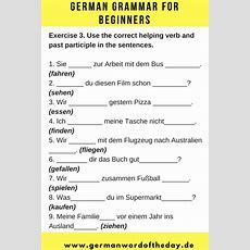 German For Beginners  German Language Printable  German Downloads  German Worksheet Basic