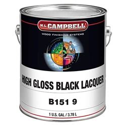 ml campbell  black pigmented lacquer gloss