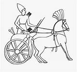 Chariot Coloring Charioteer Carriage Egypt Ancient Clipart Clipartkey sketch template