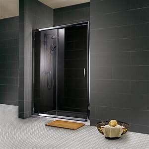 les portes de douche le nouvel accessoire deco de notre With porte de douche coulissante avec baignoire petite salle de bain
