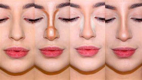 Как с помощью техники контурирования изменить форму носа