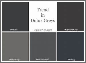 What39s Trending In Dulux Paint Colours Gallerie B