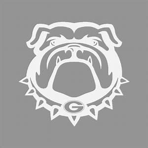 Georgia Bulldogs #3 College Logo 1C Vinyl Decal Sticker