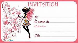Invitation Anniversaire Fille 9 Ans : imprimer carte d 39 invitation anniversaire gratuite lighteam ~ Melissatoandfro.com Idées de Décoration