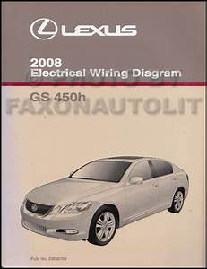2008 Lexus Gs 460  350  450h Navigation System Owners Manual