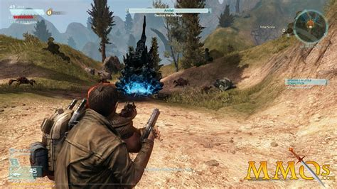 Third Person Shooter Anime Pc Mmo Free Defiance Review