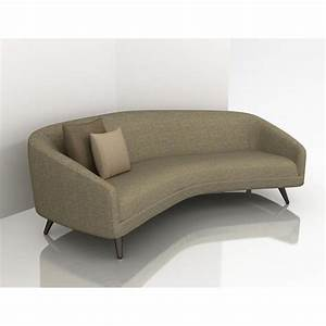 Curved Contemporary Sofa Best 25 Curved Sofa Ideas