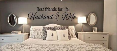 BEST FRIENDS FOR LIFE HUSBAND & WIFE Wall Art Decal Quote