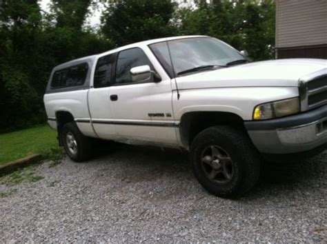 Sell Used Dodge Ram Extended Cab Pickup Truck