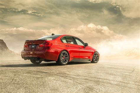 red bmw melbourne red bmw f30 335i gets all new vorsteiner v ff
