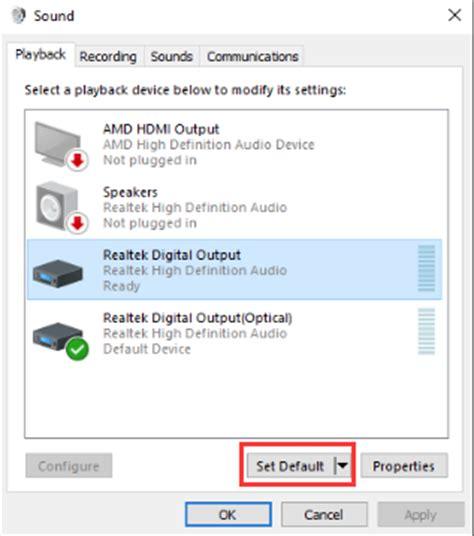 No Sound On Laptop Windows 10 Fix Hdmi No Sound In Windows 10 Driver Easy