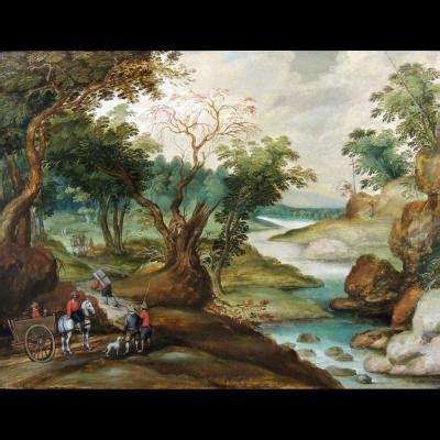 tableau paysage sur proantic 17 232 me si 232 cle