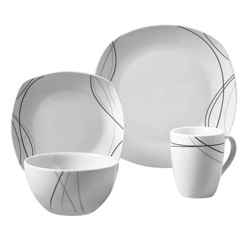 dinnerware 16pc auction