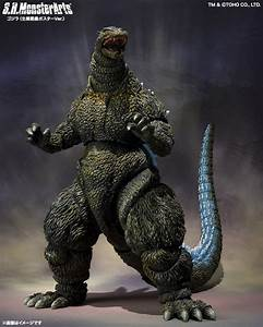 SH MonsterArts Tamashii Mix Mechagodzilla and Godzilla ...
