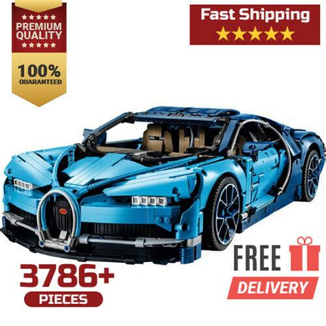 Bugatti chiron supercar (42083) for a low $284.99 free shipping after coupon code: Lego Technic Bugatti Chiron (42083) for sale online | eBay