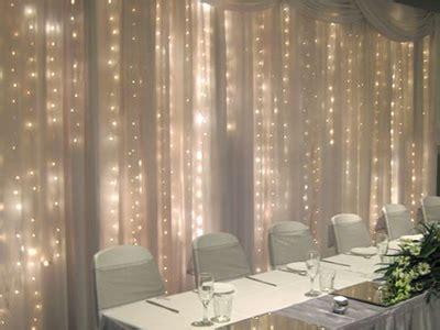 shear pipe drape wedding curtain backdrop wedding
