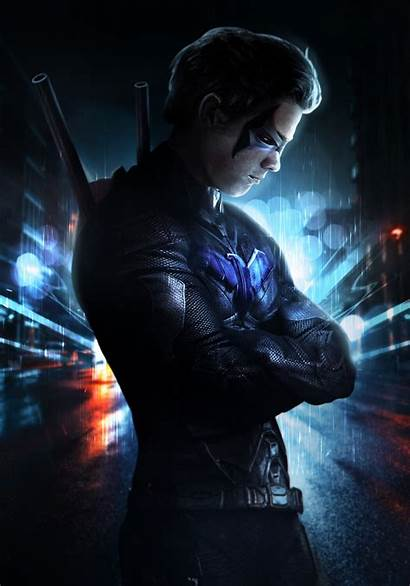 Nightwing Wallpapers Artwork Tags