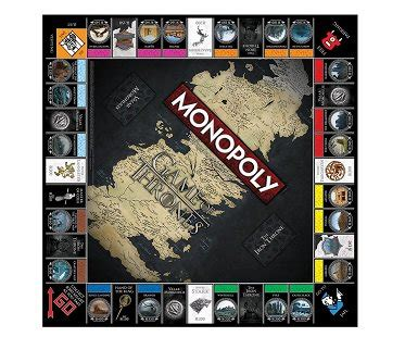 monopoly game  thrones edition