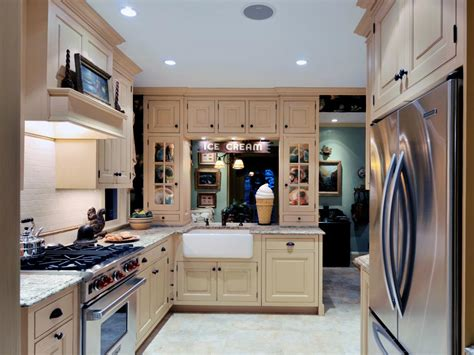 single wall kitchen cabinets one wall kitchen ideas and options hgtv 5268