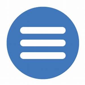 Image Gallery mobile menu icon