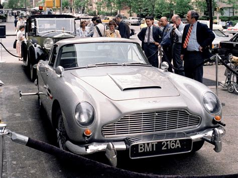 Coolest James Bond 007 Cars Of All Time