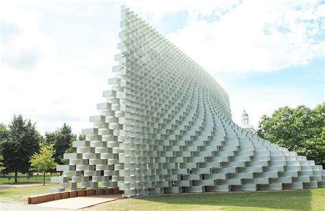 big architects at the serpentine pavilion hannah in the