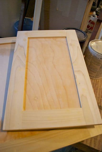 kitchen cabinet door edge trim adding flat trim to existing cabinet doors diy