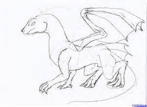 How to Draw Dragon Drawings