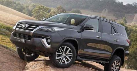 2nd Generation 20182019 Toyota Fortuner  Handsome Suv