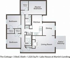 apartment floor plans pricing the lake house at martin With three bedroom apartment floor plan