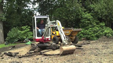 takeuchi tb mini excavator digger pelle bagger graver youtube