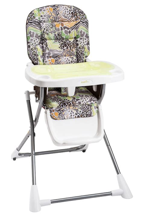 cosco slim fold high chair cosco safari compact slim fold high chair baby