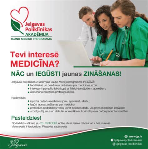 Jauno mediķu programma Jelgavas poliklīnikas Akadēmijā ...