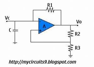 astable oscillator circuit page 2 oscillator circuits With opamp multivibrator