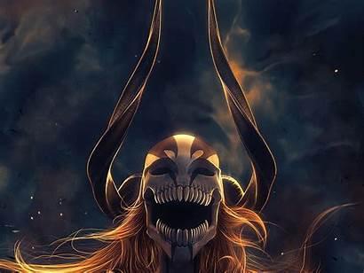 Ichigo Bleach Hollow Vasto Lorde Anime Kurosaki