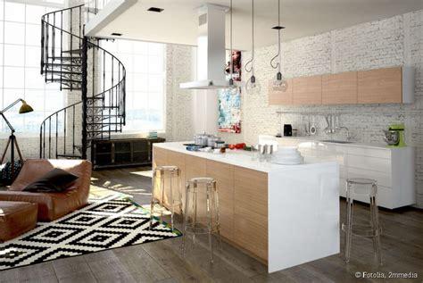 deco cuisine salon décoration cuisine salon exemples d 39 aménagements