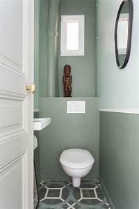 Comment Transformer Ses Wc En Espace Déco : d co toilettes avant apr s de pro pour refaire ses wc ~ Melissatoandfro.com Idées de Décoration