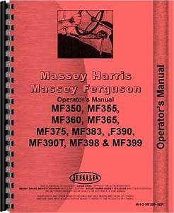 Massey Ferguson Mf 390t Diesel Operators Manual
