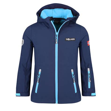 Schrank Für Jacken by Trollkids Oslofjord Jacket Navy Medium Blue