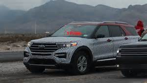 ford explorer convoy spied  nevada