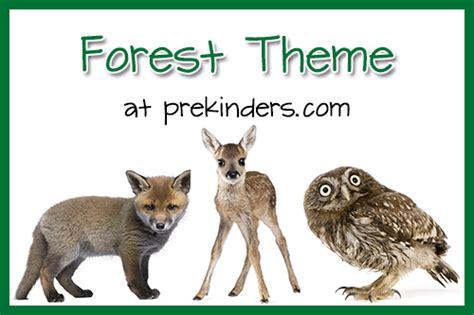 forest animals preschool theme forest theme prekinders 119