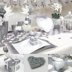 deco mariage blanc et gris recherche wedding
