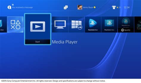 ps4 pics at home ps4 media player app now available for supports Gallery