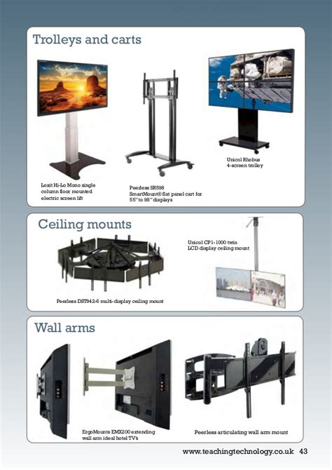 articulating tv mount with extending arms lcd monitor and touch screen guide 2017