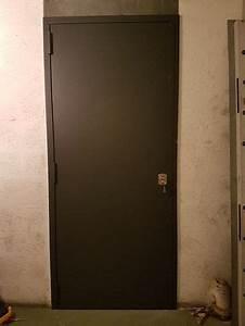 installation de porte de cave blindee par votre serrurier With porte de cave blindee