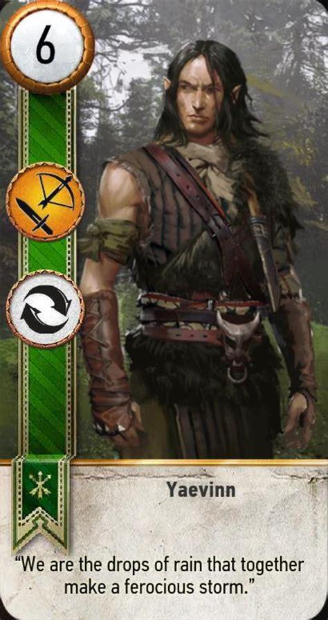 Geralt of rivia gwent card. Yaevinn (Gwent Card) | The Witcher 3 Wiki