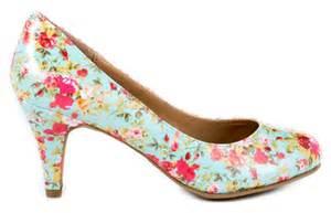 wedding shoes floral heels - Floral Wedding Shoes